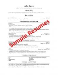 Sample Resume For College Student Resume Building For Engineering Students Engineering Career