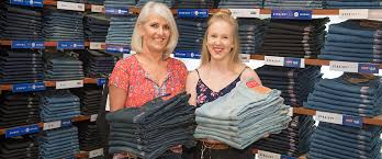 michelle knows a lot about jeans the manager of just jeans port central has been talking jeans fitting jeans ing jeans and ing jeans in the cbd