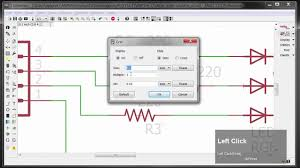 Led Circuit Design Tutorial Cadsoft Eagle Creating A Schematic Simple Switch Led Board
