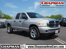 Used 2007 Bright Silver Metallic Clearcoat Dodge Ram 1500 4WD Quad ...