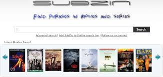 Movie Quote Search Extraordinary Subzin A Movie Quote Search Engine