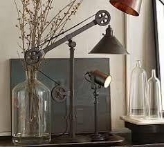 home office desk lamps. Warren Pulley Task Table Lamp Home Office Desk Lamps T