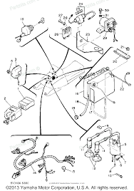 Yamaha snowmobile 1985 oem parts diagram for electrical 1