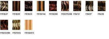 Janet Collection Wig Color Chart Janet Collection Color Charts
