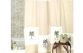 bathroom accessory sets palm trees accessories colony shower curtain ivory collection medium size read c