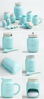 white ceramic kitchen canister sets white ceramic kitchen canister sets fresh blue mason jar ceramic collection