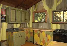 Salvage Kitchen Cabinets Paint Decorated Patterned Made From Salvaged