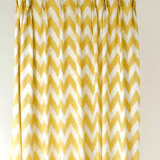 silver and gold curtains chevron shower