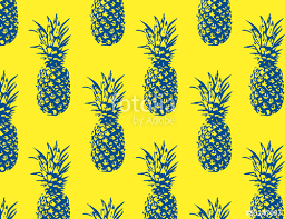 Pineapple Pattern Mesmerizing Pineapple Pattern Stock Image And Royaltyfree Vector Files On