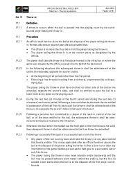 Fiba Official Basketball Rules 2010
