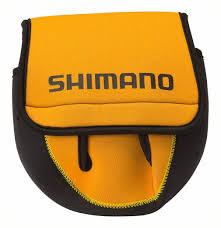 Shimano Neoprene Spinning Fishing Reel Cover Reel Bag To Suit Spin Reels