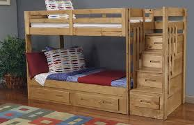 Bunk bed plans popular with stairs current of markthedevcom