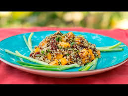 roasted ernut squash and quinoa salad
