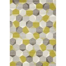 8 x 11 large honeycomb green and gray area rug camino rc willey furniture