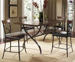 Hillsdale Dining Table Hillsdale Cameron Rectangular Counter Height Dining Table 4671ctbr