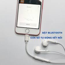 Jack chuyển tai nghe Lightning ra chân tròn 3.5mm tương thích iphone 5 6 7  x 11 kết nối Bluetooth hỗ trợ mic chính hãng 49,500đ