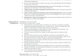 Resumes For Retail – Resume Letter Collection
