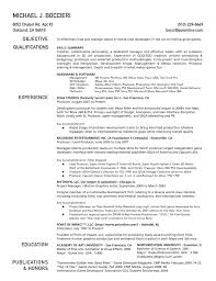 ... 14 Sample One Page Resume 6employment Education Skills Graphic  Technical Professionalone Page Resume Example