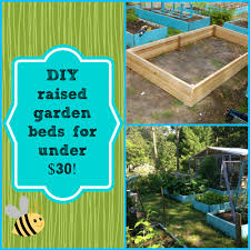 diy raised garden beds for under 30