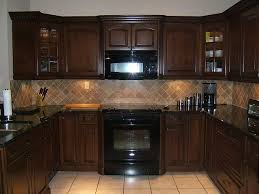 Modren Dark Kitchen Cabinets Colors Nice Ideas With Design Decorating