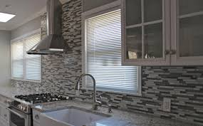 white kitchen black backsplash wall ideas modern tiles glass colorful kitchens exciting grey with any type