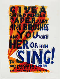 Bob & Roberta Smith | Sing | Paupers Press