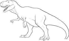 Small Picture Free Dinosaur Coloring Pages esonme