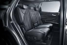 2019 hyundai santa fe photo gallery 2019 hyundai santa fe interior cabin rear seat simulation o