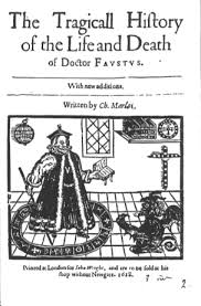 christopher marlowe additional sources title page of faustus