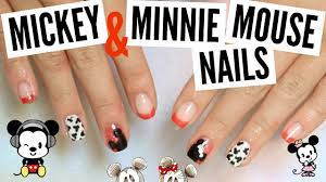 DIY Gel Color Changing Mickey / Minnie Mouse Nails Tutorial