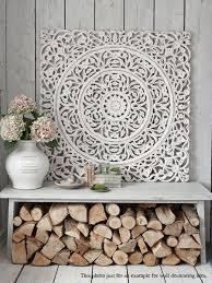 white fl wood wall art panel indian wood carved wall hanging carved wood wall art decor