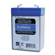 Lithonia Emergency Light Battery Lithonia Lighting Elb 06042 Rechargeable Replacement Lead