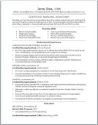 Cna Cover Letter Sample Cover Letter Sample With Experience Resume ...