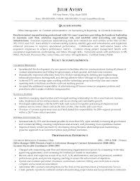 Contract Administration Sample Resume 0 Business Nardellidesign Com