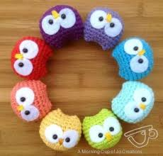 Quick And Easy Crochet Patterns Interesting Baby Owls Ornaments Crochet Pattern AllCrafts Free Crafts Update