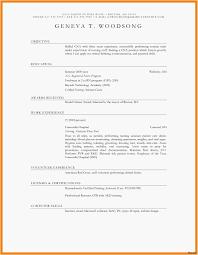 Basic Resume Examples Fascinating Resume Format For Job Application Fresh Basic Resume Examples Lovely