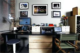 home office with two desks. Beautiful Home Office Desk For Two Home Offices Person New Dual    With Home Office Two Desks F