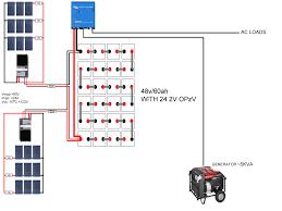 48v battery bank wiring diagram 48v image wiring help 48v agm battery bank u2014 northernarizona windandsun on 48v battery bank wiring diagram