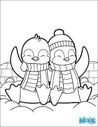 Small Picture Valentines day penguins coloring pages Hellokidscom