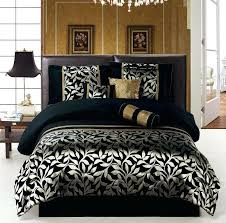 awesome good black white and gold forter set of elegant matching bedding and curtains argos