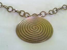 spiral oval pendant necklace 239 p jpg