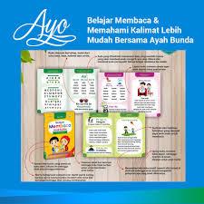 Soal latihan bahasa indonesia siswa bisa memperkenalkan diri sendiri dengan menggunakan kalimat sederhana dan bahasa yang. Buku Belajar Membaca Anak Balita Cara Mudah Mengajar Anak Membaca Kinsky Shopee Indonesia