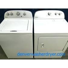 kenmore 500 dryer. Kenmore Series 500 Dryer Washer Used Super Capacity Whirlpool Top Load Electric Set .