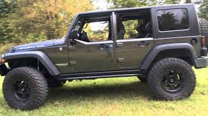 factory jk half doors with factory hardtop on a 2018 jeep wrangler jk unlimited 4 door jeep on 37 s