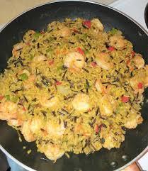 Brown Wild Rice Shrimp Recipe - Go ...