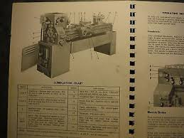 leblond regal lathe instruction parts manual bull  leblond regal lathe instruction parts manual 3928 2