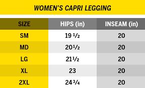 Rudis Wrestling Size Chart Rudis Performance Womens Capri Leggings Rudis