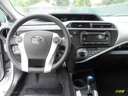 2012 Toyota Prius c Hybrid Two Light Blue Gray/Black Dashboard ...