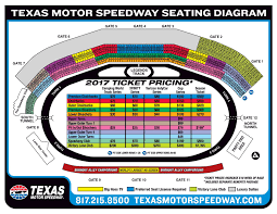 Texas Motor Speedway Suite Chart Texas Motor Speedway Seating Chart With Rows Tickets Price
