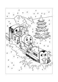 Thomas De Trein Achter De Sneeuwschuiver Thomas De Stoomlocomotief